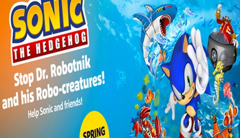 Sonic Event in SEA LIFE Benalmadena coming in 2021
