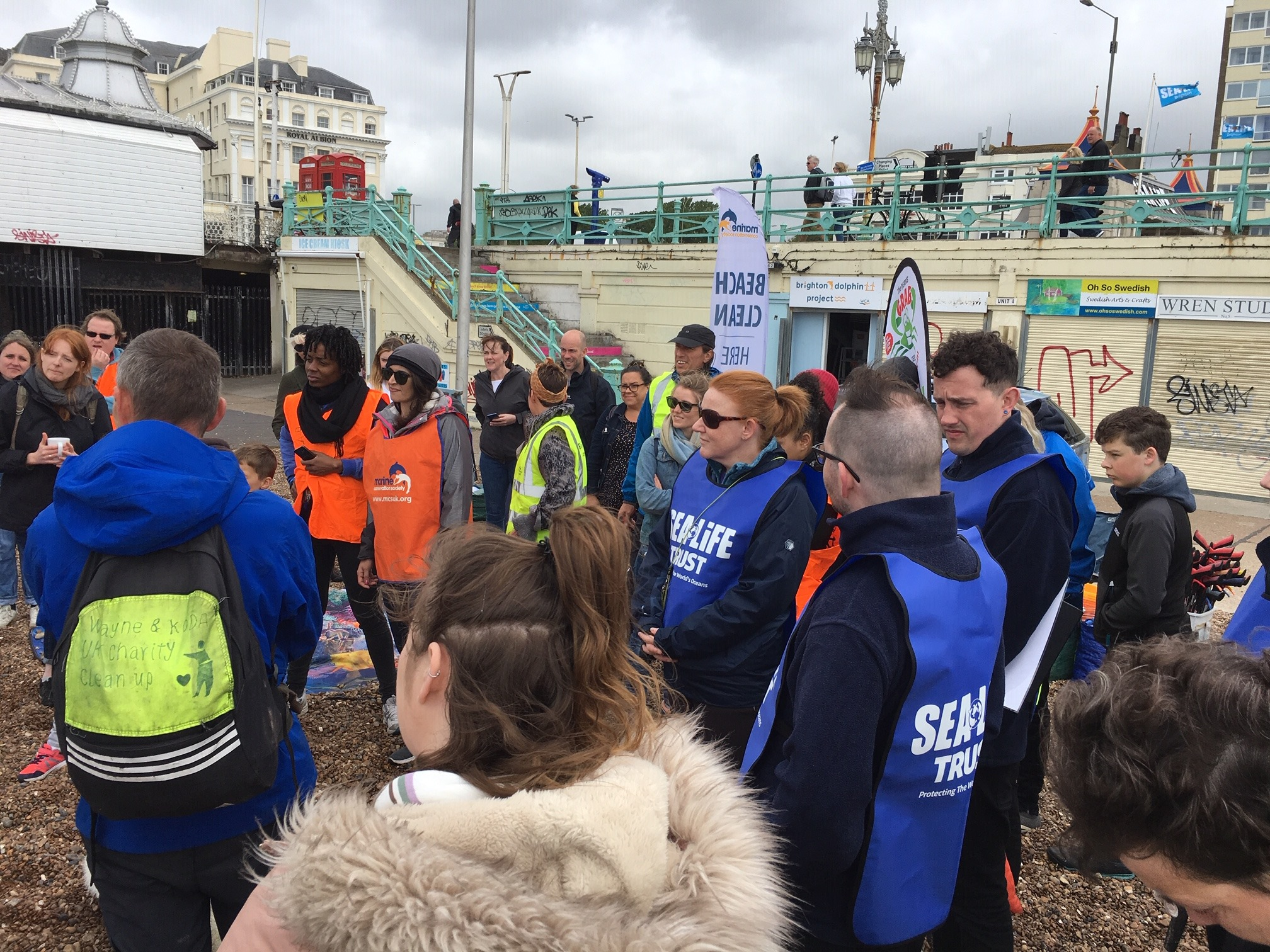 Brighton Beach Clean