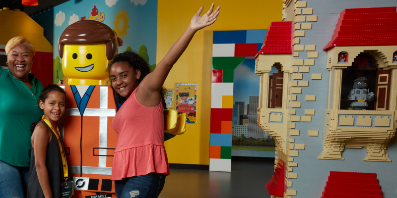 Combo Tickets | SEA LIFE Grapevine and LEGOLAND Discovery Center Dallas