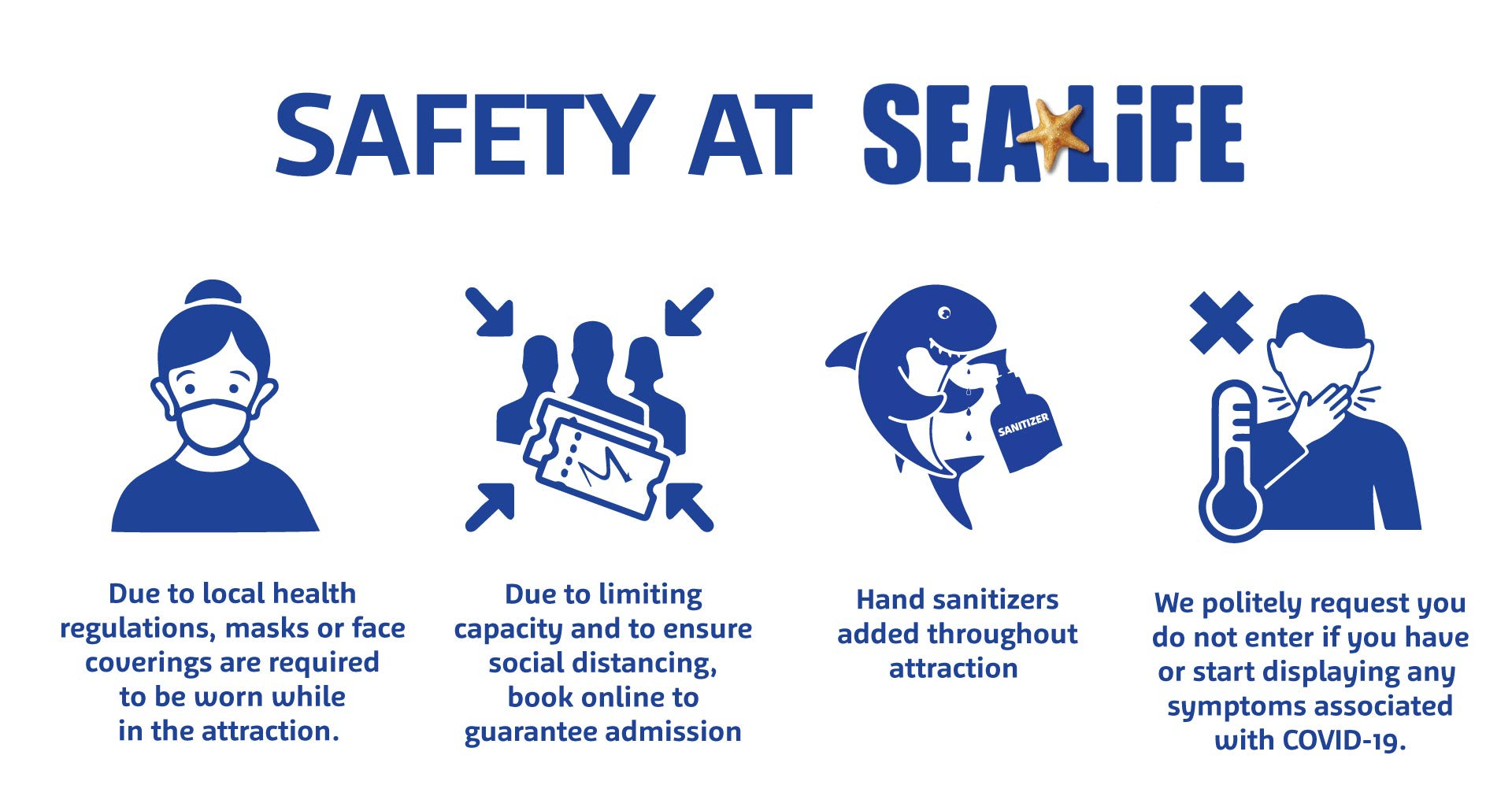 SEA LIFE Safety Michigan Editable Larger File | SEA LIFE Aquarium