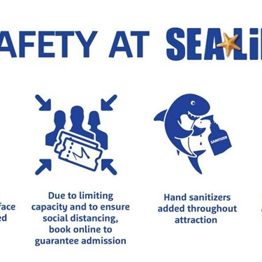 SEA LIFE Safety | SEA LIFE Aquarium